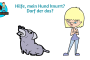 Mein Hund knurtt - darf der das?